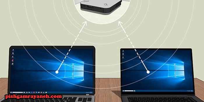 انتقال فایل بین دو کامپیوتر