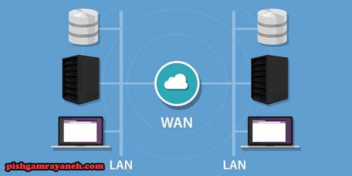 تفاوت شبکه LAN با WAN
