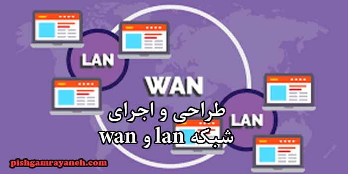 طراحی و اجرای شبکه lan و wan