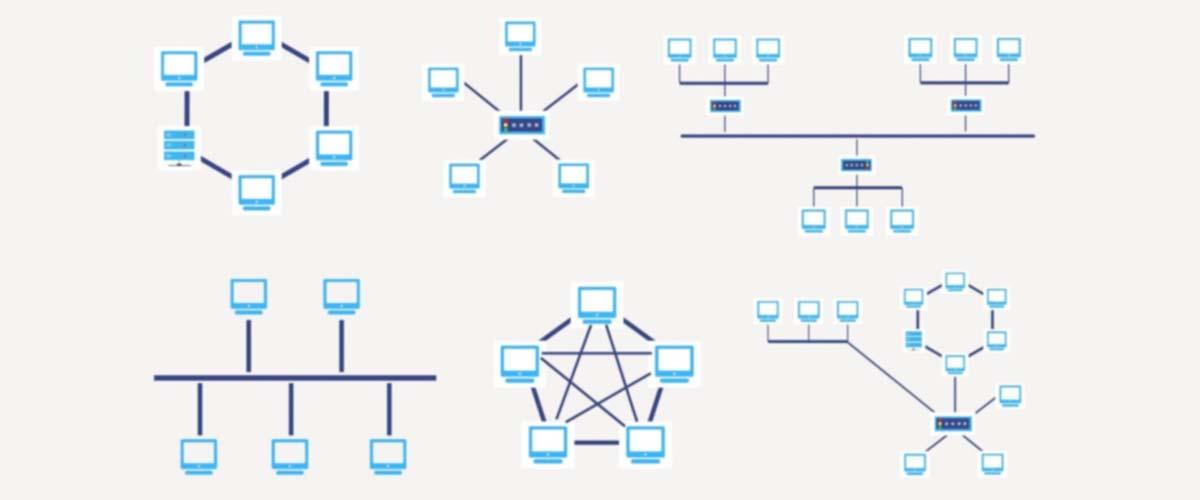 طراحی توپولوژی شبکه