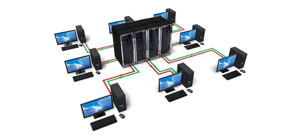 پیاده سازی شبکه کامپیوتری